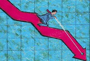 Cap slump drags down markets