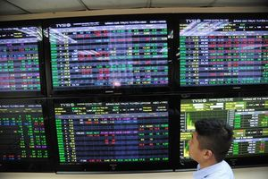 VN Index dragged down by blue chips