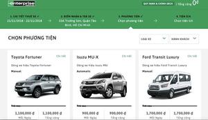 Enterprise Rent-A-Car to enter Vietnamese market