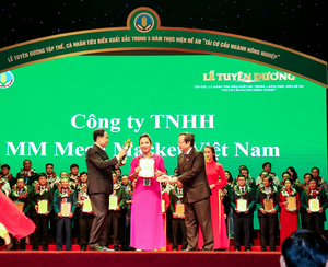 MM Mega Market striving to expand Vietnamese agriculture value chain