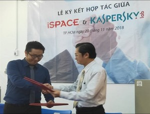 iSpace signs deal with Kaspersky Lab for cyber security training