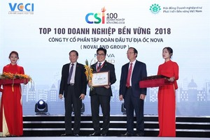 Novaland named top 100 sustainable companies