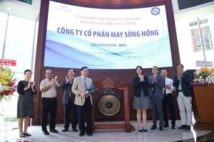 Song Hong Garment lists on HCMC exchange