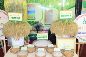 Viet Nam's rice trademark unveiled at festival