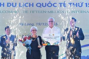 Viet Nam has welcomed 15 million international tourists