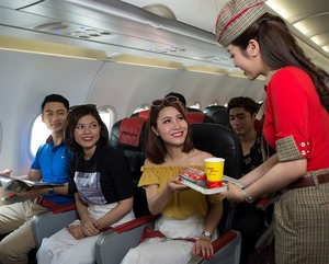 Vietjet selling tickets for HCMC-Van Don route