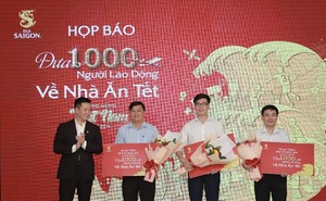 Sabeco to gift air tickets for outstanding workers to return home for Tet