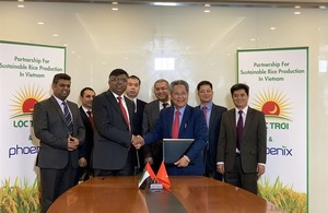 Loc Troi Group sign agreement with Dubai company for rice production