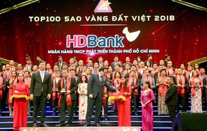 HDBank won Vietnam Gold Star award for 2018