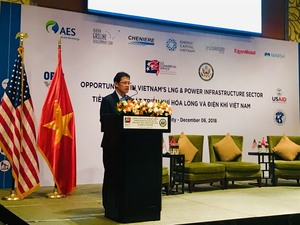 US to help VN develop LNG power industry