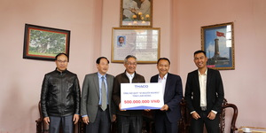 Auto maker Thaco donates $1.1m to poor for Tet