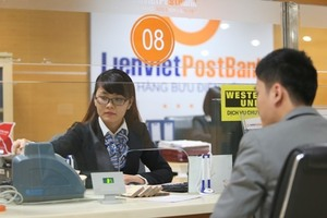 LienVietPostBank's profit to rise by 27% in 2018