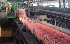 Steel exports increase 38%