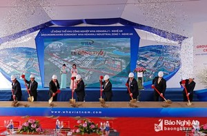 Work starts on $1-billion industrial zone in Nghe An