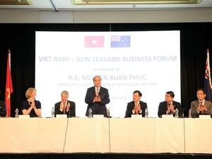 Prime Minister attends VN-New Zealand Business Forum