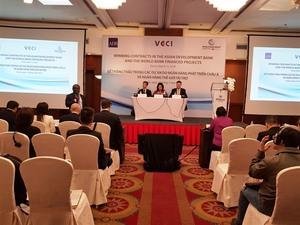 Vietnamese firms urged to work to win WB, ADB bids