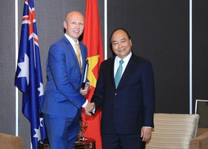 PM Phuc expects huge investments from Australia