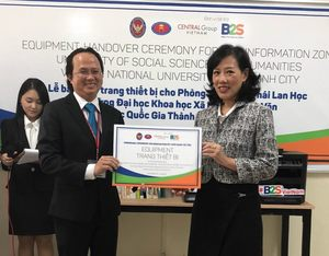 Thai company donates learning equipment to university