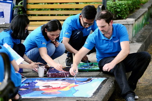 100 manhole covers in HCM City to be beautified with painting