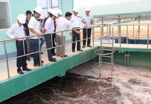 New waste water treatment plant opens