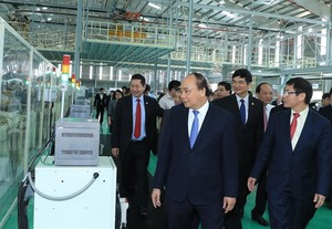 PM attends inaugural ceremony of Thaco Mazda plant