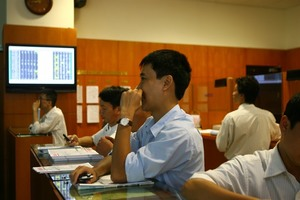 Large-caps keep market afloat