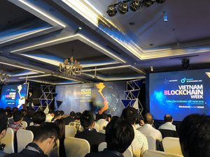 Global experts attend blockchain event in City