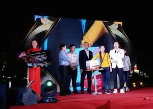 Lotte Mart announces lucky draw car winner