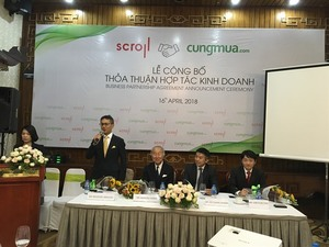 VN e-commerce firm Cat Dong joins Japan's Scroll