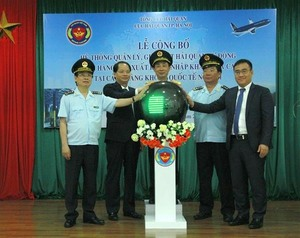 Automated customs system at Noi Bai Airport launched