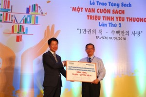 Korean charity to gift 10,000 books to HCM City primary schools