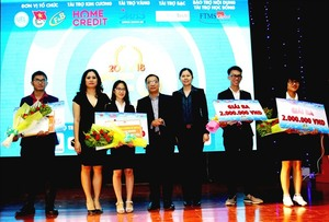 "VNU student wins ""CFO The Challenge"" contest"