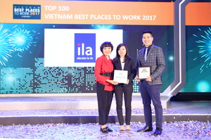 ILA named 2nd best working place in education category