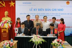 Samsung to accompany VN in World Skills Competition