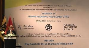 Belgium to support Viet Nam in urban planning