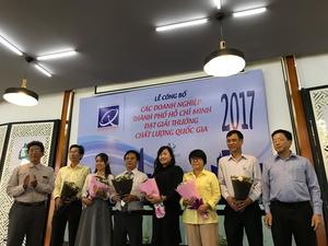 HCMC honours top quality firms