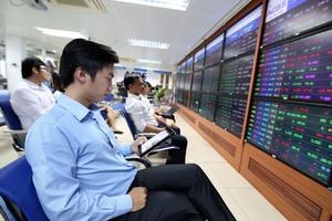 Shares decline on surging selling pressure