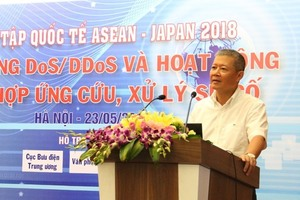Viet Nam hosts 2018 ASEAN-Japan cyber security drill