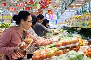 VN's CPI up 0.55 per cent, highest since 2012