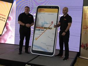 DHL launches same-day service