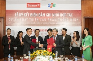 FPT, Điện Quang to develop smart electrical equipment