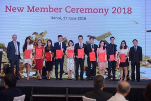 ACCA welcomes 213 new members