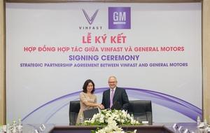 VinFast, GM sign strategic partnership agreement