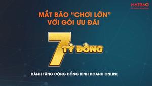 Domain registrar Mat Bao offers huge discounts at Vietnam Mobile Day