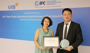 VIB awarded best bank partner in region