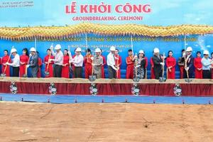 VN's largest solar project breaks ground
