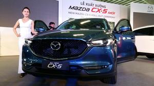 16,500 Mazda car sold in Viet Nam in half 2018
