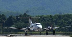 Van Don Airport receives first flight