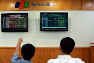 Shares rise for a second day