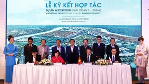 Nam Long partners with investors for Waterpoint Township project